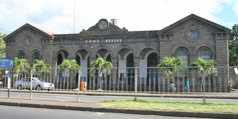 Image result for central post office port louis